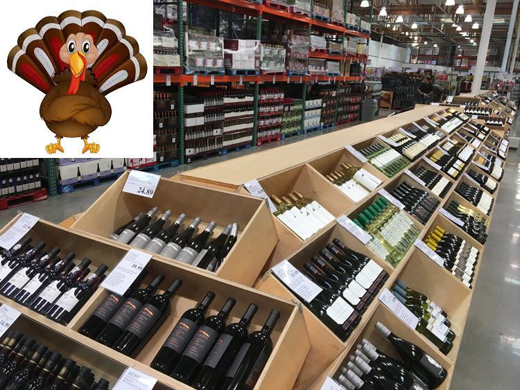 2017 Costco Wine Thanksgiving Picks