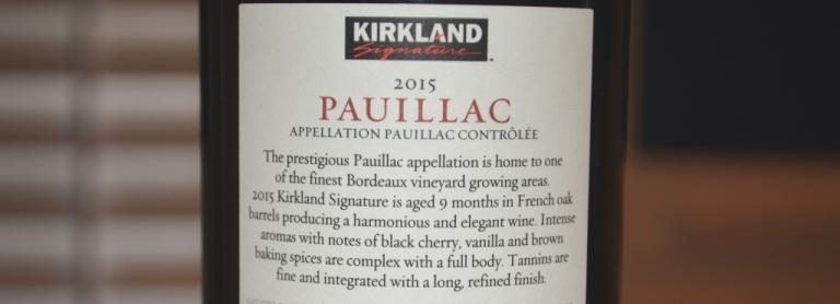 Kirkland Pauillac