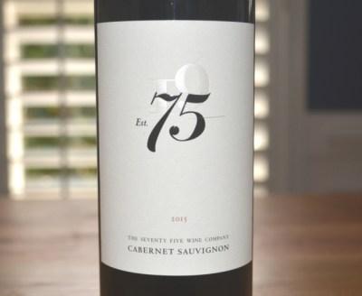 2015 Tuck Beckstoffer The Seventy Five Wine Company Est 75