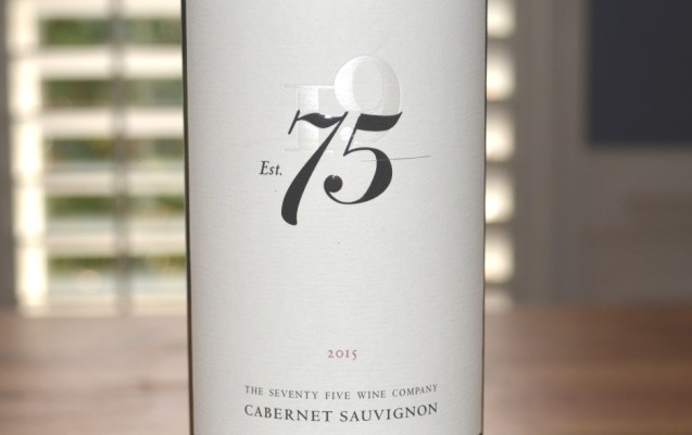 2015 Tuck Beckstoffer The Seventy Five Wine Company Est 75