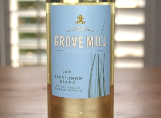 2016 Grove Mill Sauvignon Blanc Wairau Valley Marlborough