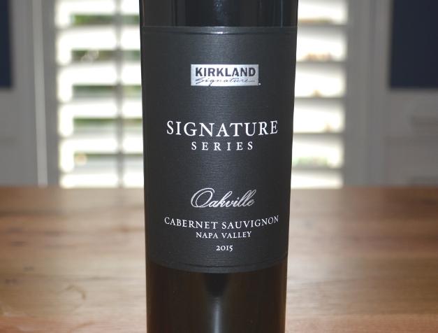 2015 Kirkland Signature Series Oakville Cabernet Sauvignon