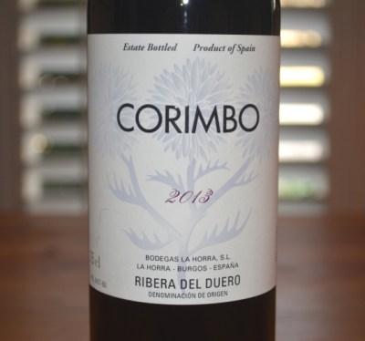 2013 Bodegas La Horra Corimbo Ribera del Duero