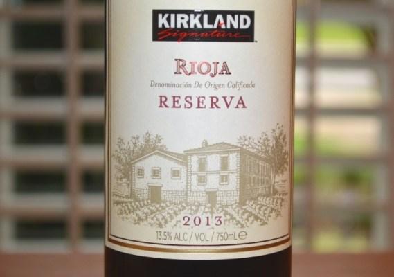 2013 Kirkland Signature Rioja Reserva