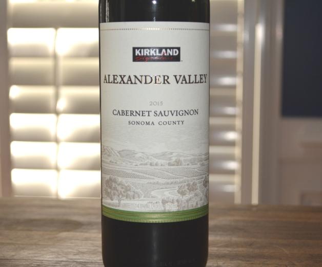 2015 Kirkland Signature Alexander Valley Cabernet Sauvignon