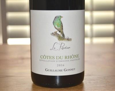 2016 Guillaume Gonnet Cotes du Rhone Le Reveur Rouge