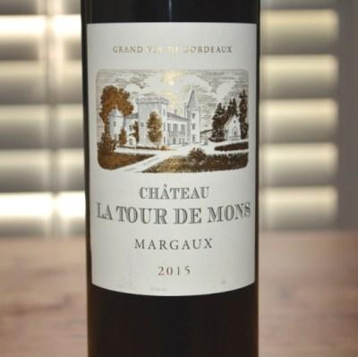 2015 Chateau La Tour de Mons Margaux