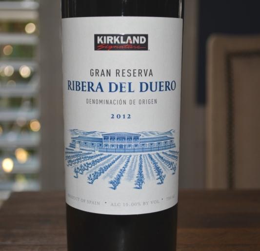 2012 Kirkland Signature Ribera del Duero Gran Reserva