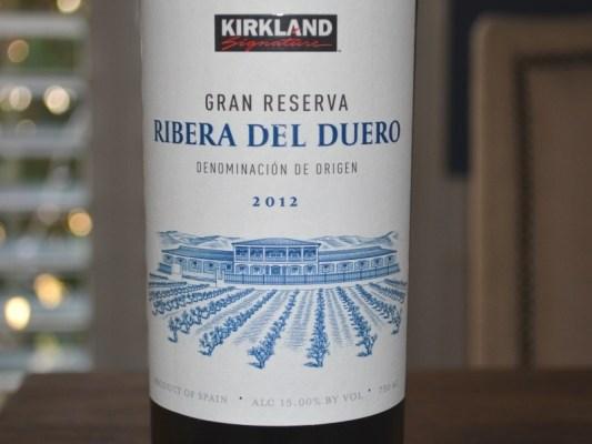 2012 Kirkland Ribera del Duero Gran Reserva