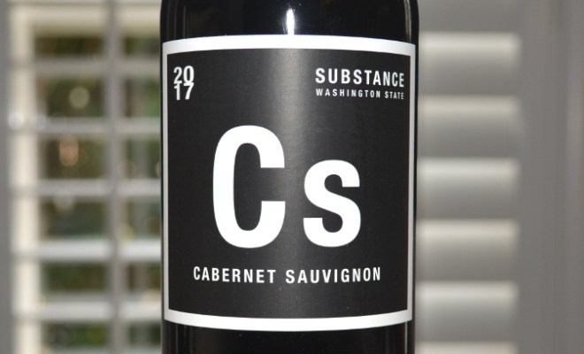 2017 Wines of Substance Columbia Valley CS Cabernet Sauvignon