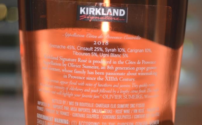 2018 Kirkland Signature Cotes De Provence Rose