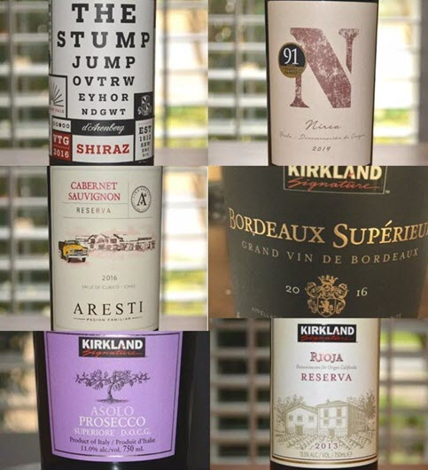 Six of the Best Wines Under $10 in Costco Right Now