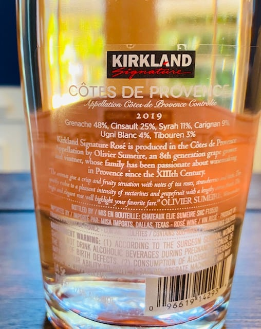 Kirkland Signature Cotes De Provence Rose