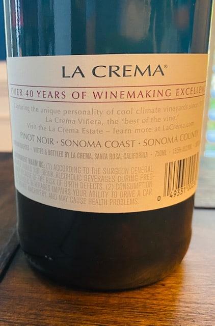 La Crema Pinot