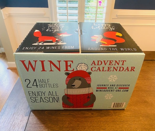 Wine Advent Calendar 1