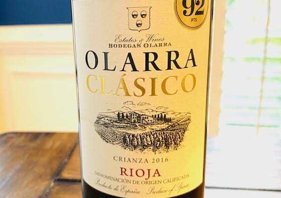 Olarra Clasico Rioja Crianza