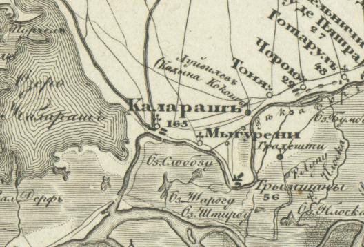 Harta rusă 1822-1829