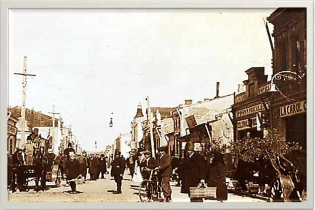 Centru 1930 De la Piață spre Primărie
