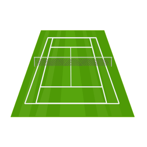 Tennis court cost