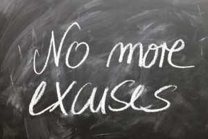 No excuse and lies board