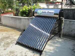 Solar water heater image