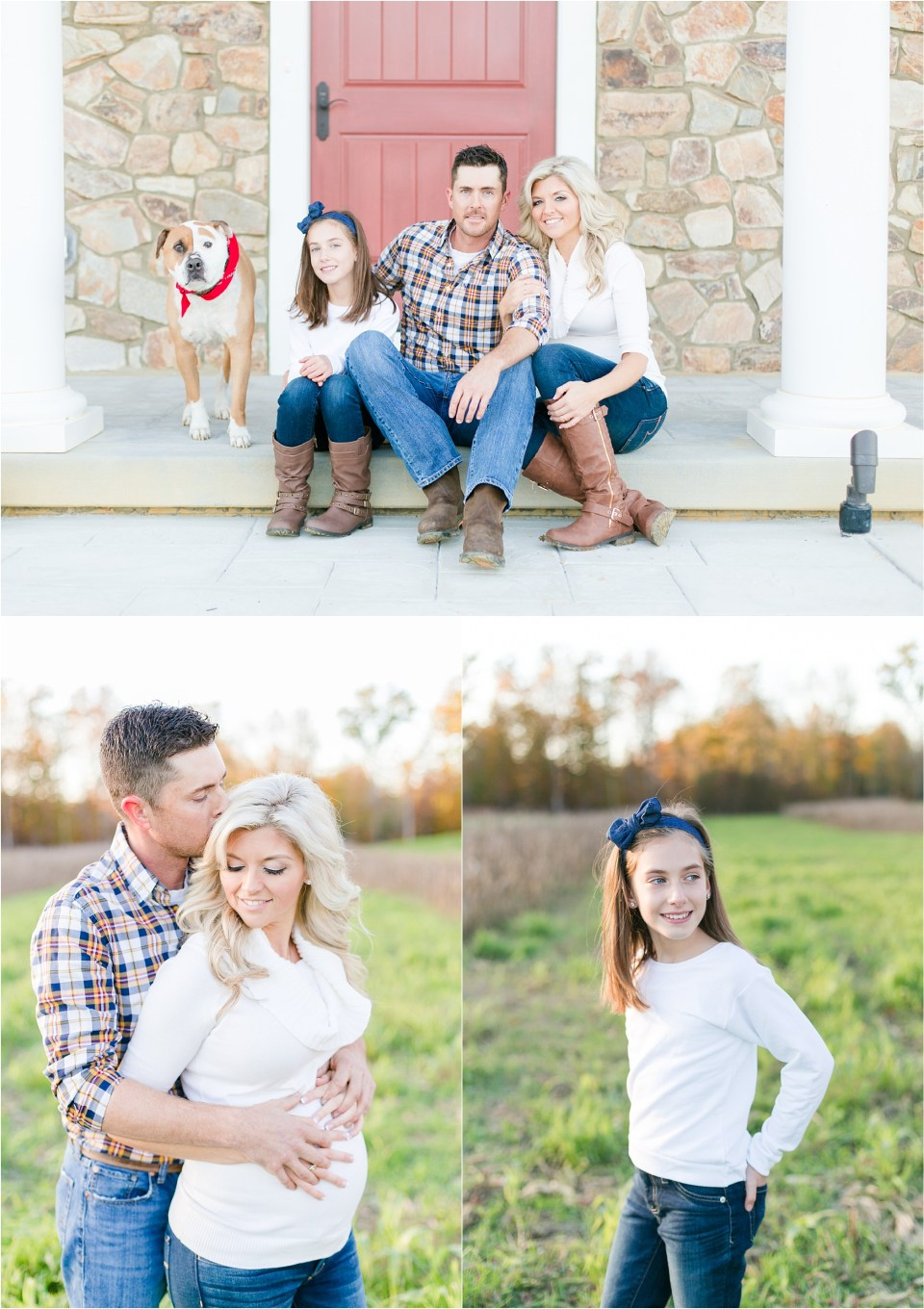 Fall Southern Maryland Maternity Session