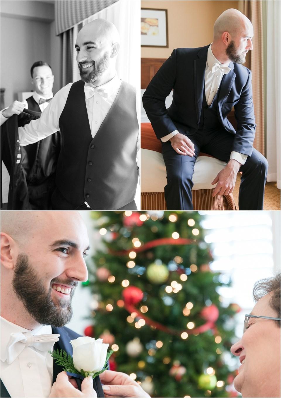 Southern Maryland Winter Wedding