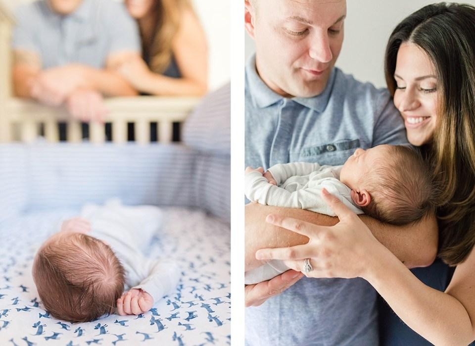 Annapolis In Home Newborn Session_0154