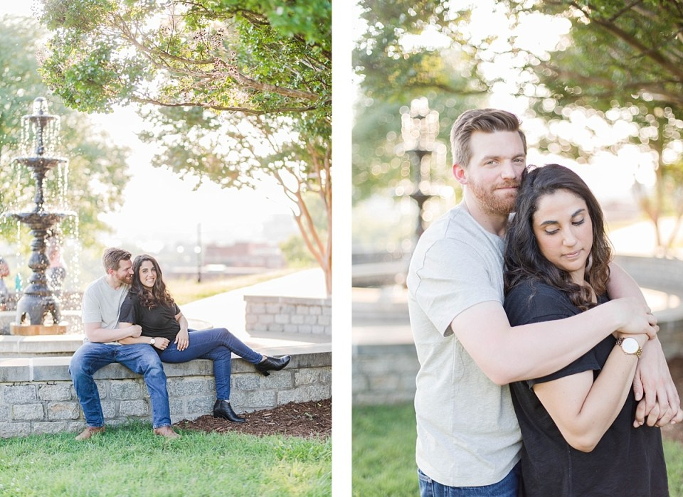 Libby Hill Engagement Richmond Virginia Costola Photography