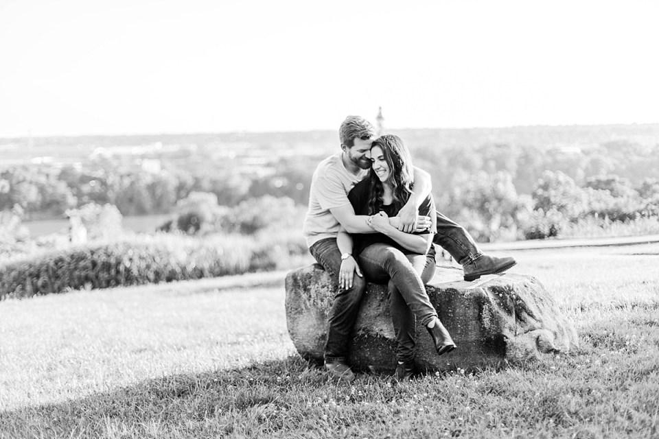Libby Hill Engagement Richmond Virginia Costola Photography