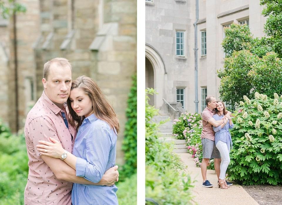 National Cathedral Engagement Session Washington DC Wedding Photographer Costola