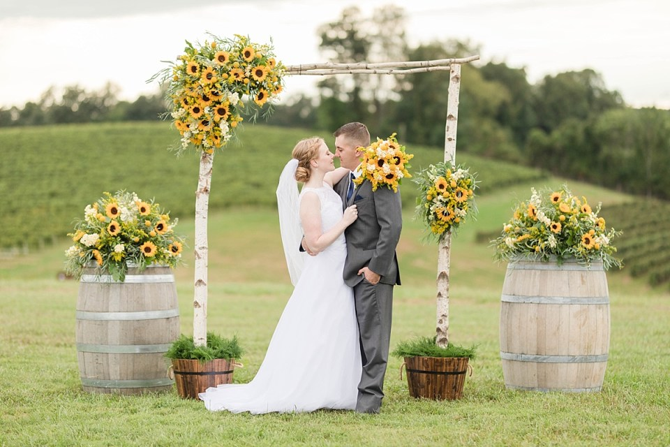 Linganore Winecellars Wedding