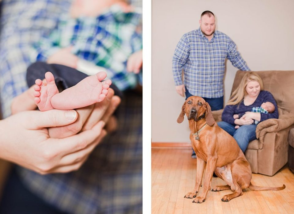 Country Newborn Session