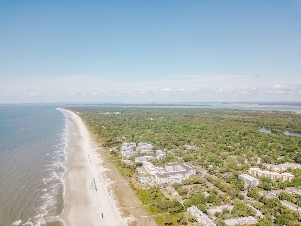 Drone Shot of Hilton Head South Carolina by Costola Photography