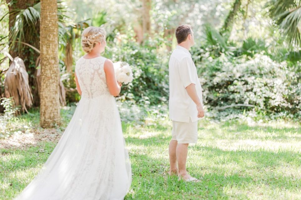 First Look at Wedding at the Beach House Resort by Costola photography