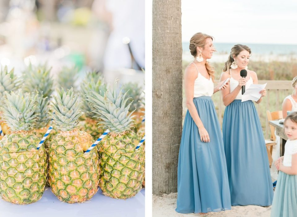 Reception in the dunes for Wedding at the Beach House Resort by Costola photography