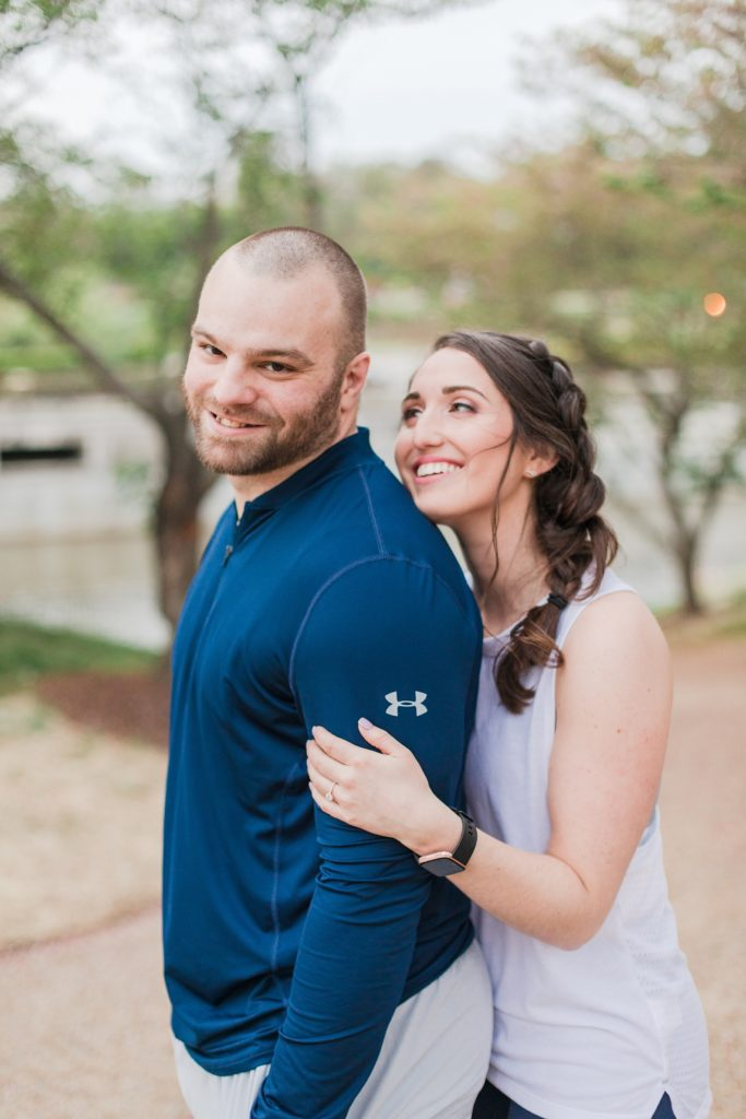 Browns Island Engagement Session in Downtown Richmond Virginia by Costola Photography