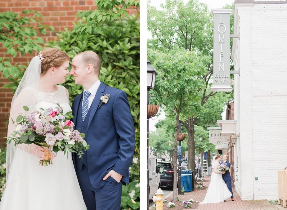Bride and Groom at Lorien Hotel & Spa by Costola Photography