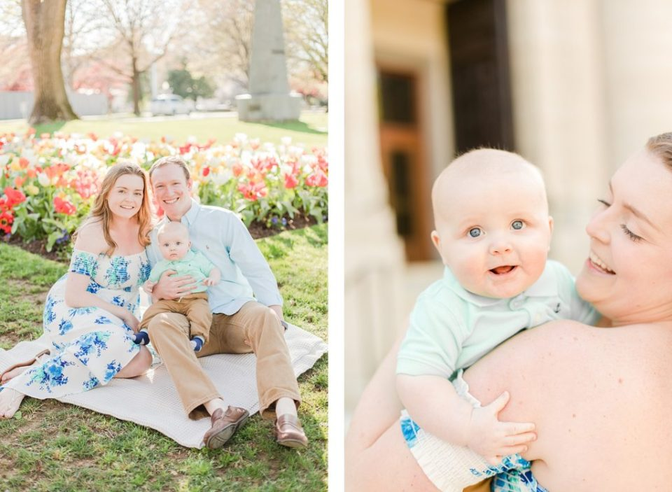 Naval Academy Family Session by Costola Photography