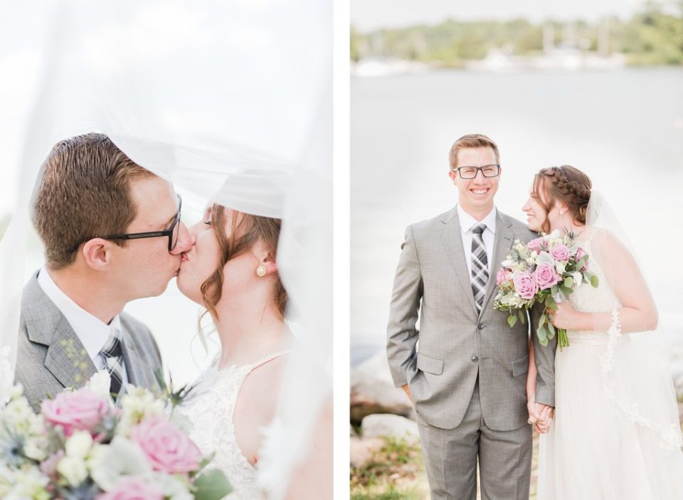 First Look at Summer Wedding in Southern Maryland by Costola Photography