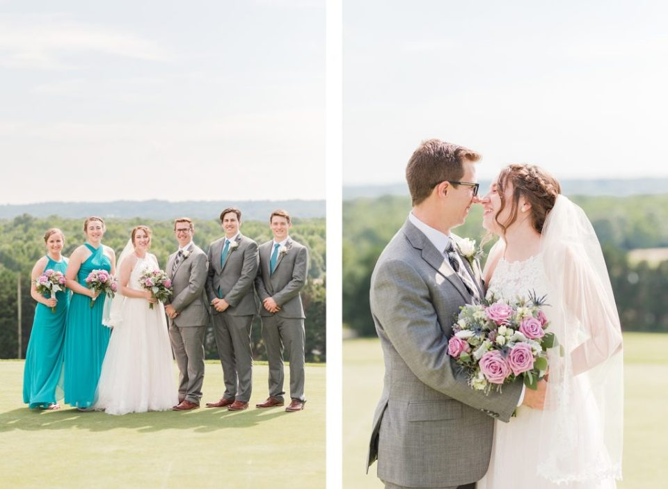 Wicomico Golf Course Wedding by Costola Photography