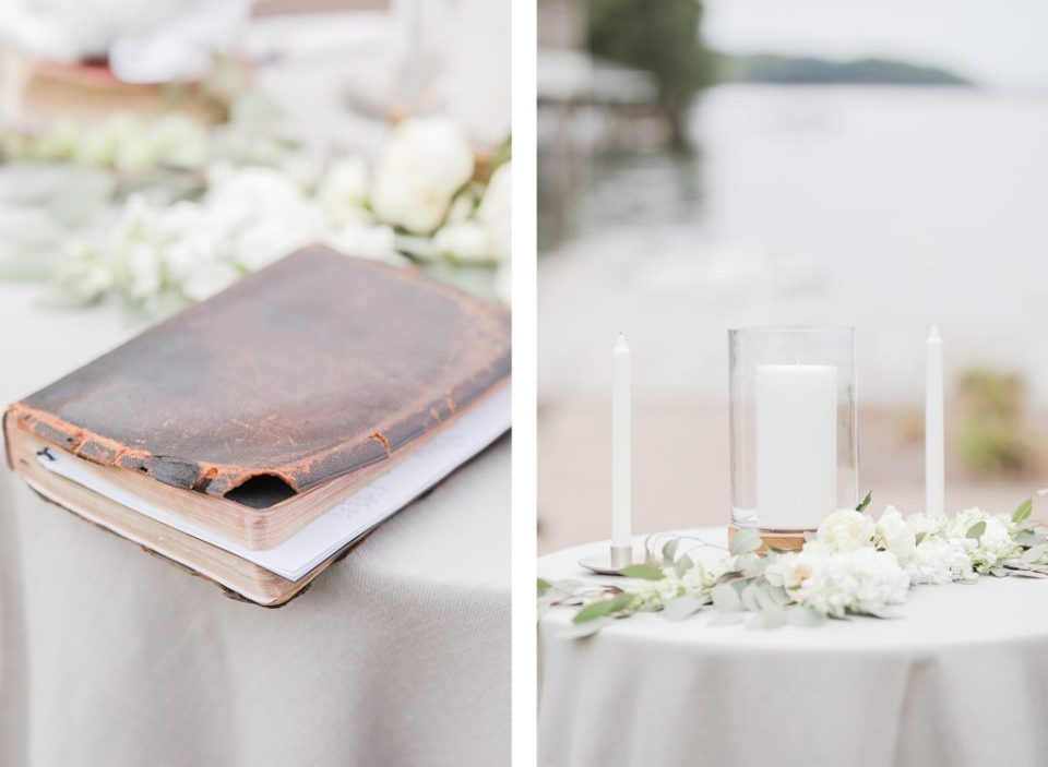 Southern Wedding on Lake Gaston by Costola Photography