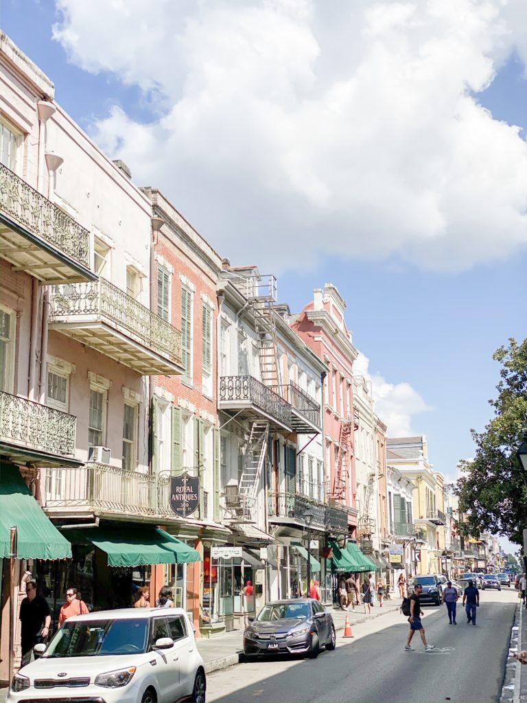 Frenchman Street in French Quarter NOLA
