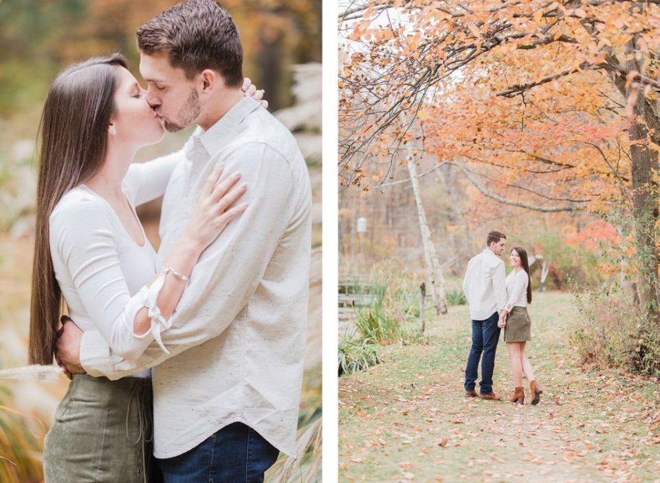 Fall Thorpewood Engagement by Costola Photography
