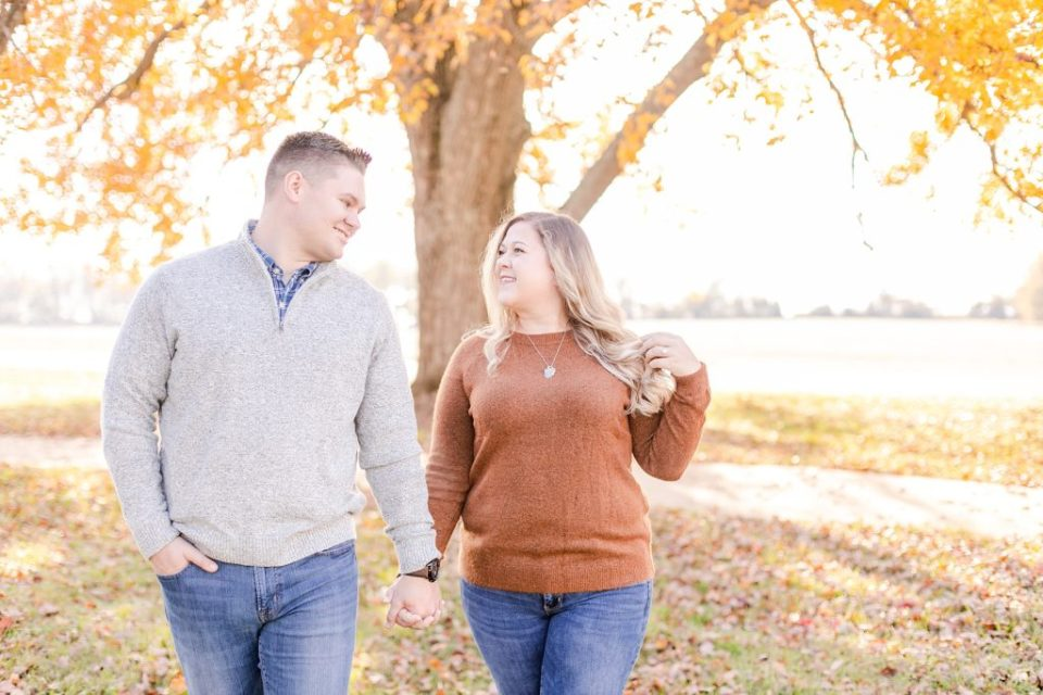 Joyful Engagement at Jefferson Patterson Park by Costola Photography