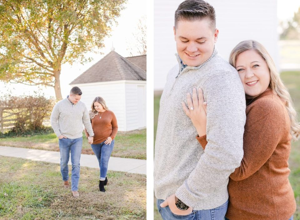 Joyful Engagement at Jefferson Patterson Park by Costola Photography