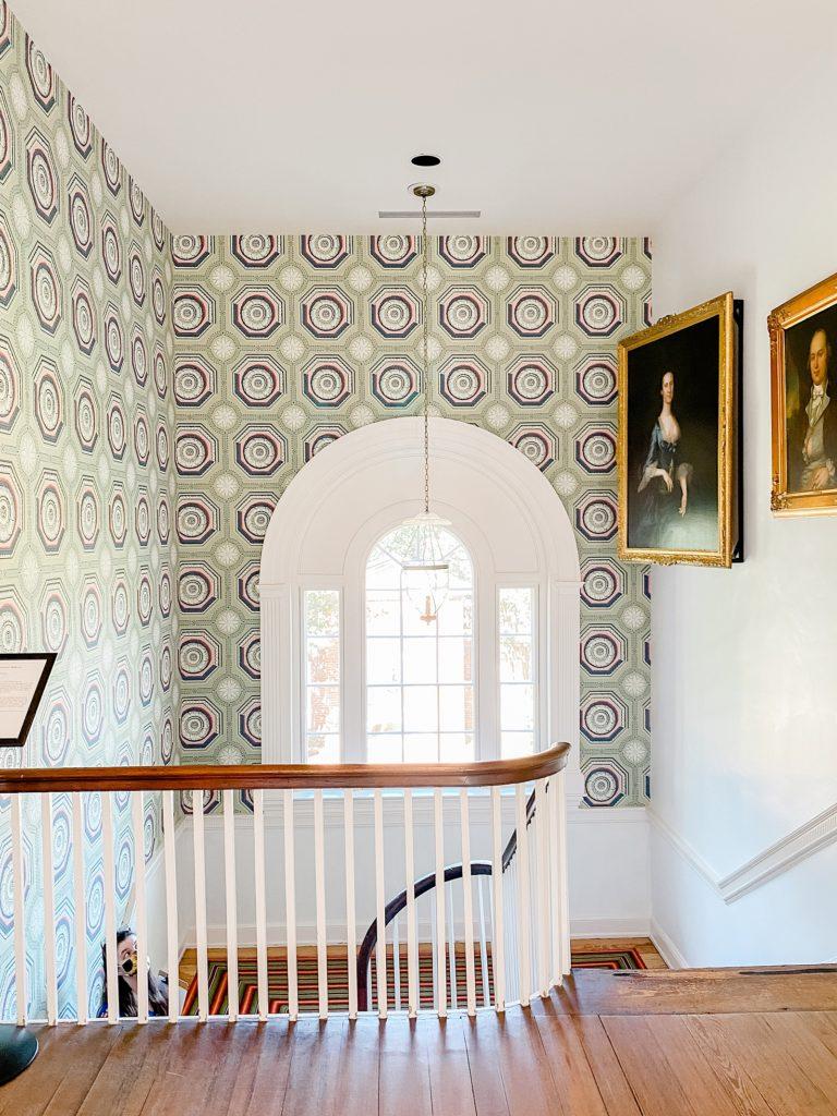 Dumbarton House Wedding Staircase