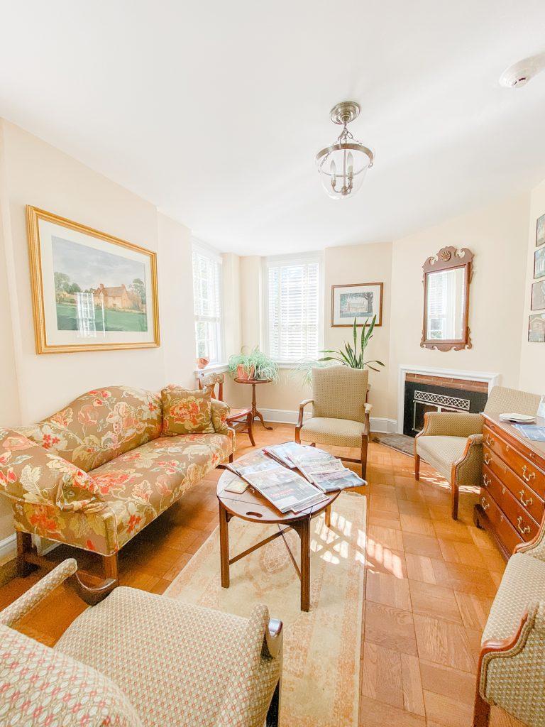 Dumbarton House Bridal Suite