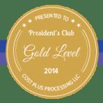 Gold Level 2014
