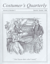 Costumers Quarterly Vol 9 No 2